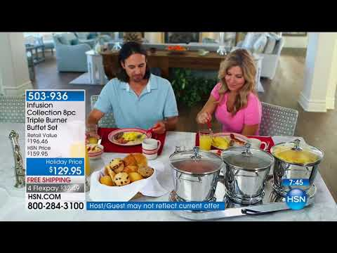 HSN | Holiday Cooking & Entertaining 11.08.2017 - 03 AM