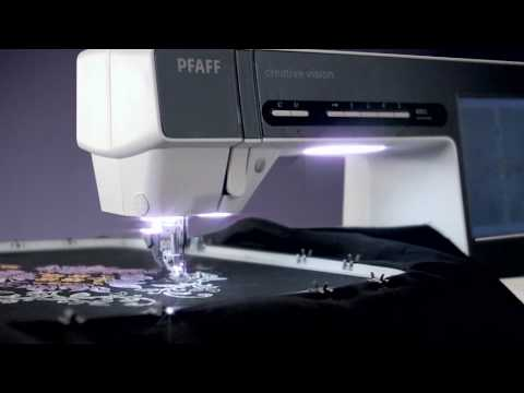 PFAFF® creative vision™ sewing and embroidery machine