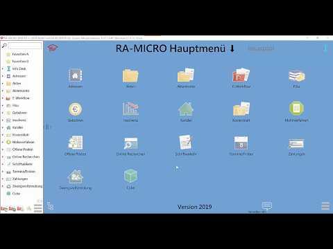 RA-MICRO E-Workflow: Übersicht