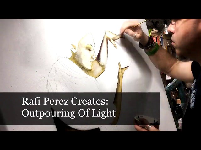 Outpouring Of Light By Rafi Perez