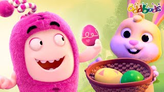 Oddbods | NEW | THE ODD BUNNY & THE COLORFUL EASTER EGGS | Full EPISODE | Funny Cartoons For Kids