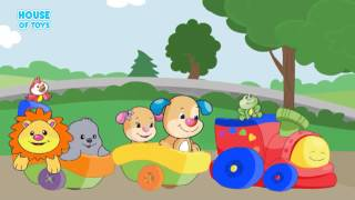 Fisher Price   All Aboard The Animal Train