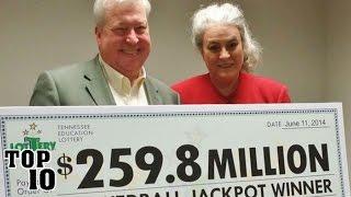 Top 10 Biggest Lottery Winners
