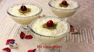 Porsiyonluk muzlu güllaç tarifi- İftar sonrası için en kolay ve lezzetli tatlı tarifi- Ev Lezzetleri