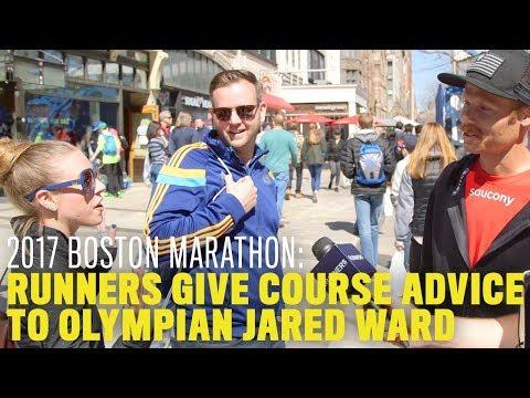 Olympian Jared Ward Gets Boston Marathon Advice From Unsuspecting Runners