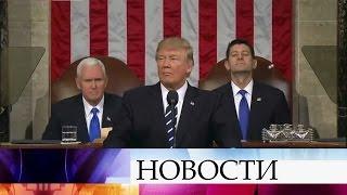 Президент Дональд Трамп назвал главной угрозой безопасности США Северную Корею.