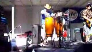 Congas at the Crawdad Fest, Isleton, CA