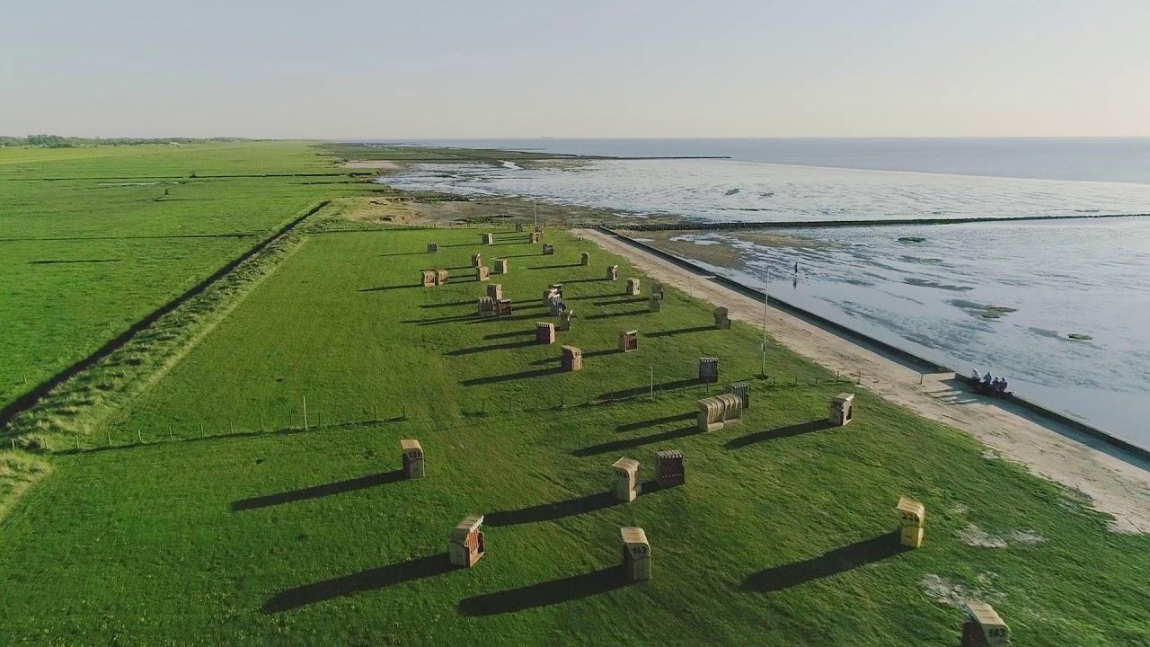 Luftaufnahmen von Dorum/Wurster Nordseeküste 2