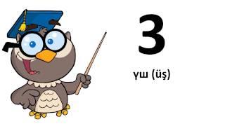 Aprende un idioma # Kazakh # De 0 a 9