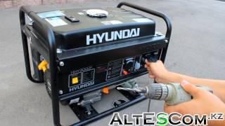 Запуск Бензинового генератора HYUNDAI HHY 3000F 2,6кВт(http://otvertka.kz/catalog/benzinovye_generatory/benzinovyy_generator_hyundai_hhy_3000f_2_6kvt/ Макс. экв. мощность (кВт): 3 Номинальная мощность ..., 2014-07-19T04:58:50.000Z)