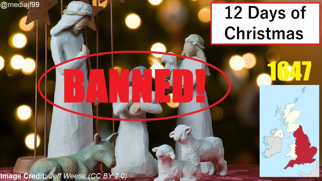 The time when Christmas was illegal in England | 12 DAYS OF ...