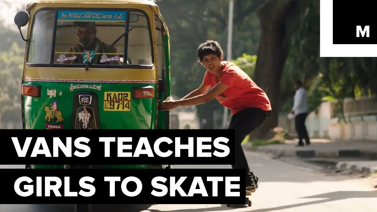 62e932691a Vans Is Teaching Girls in India How to Skate - YouTube