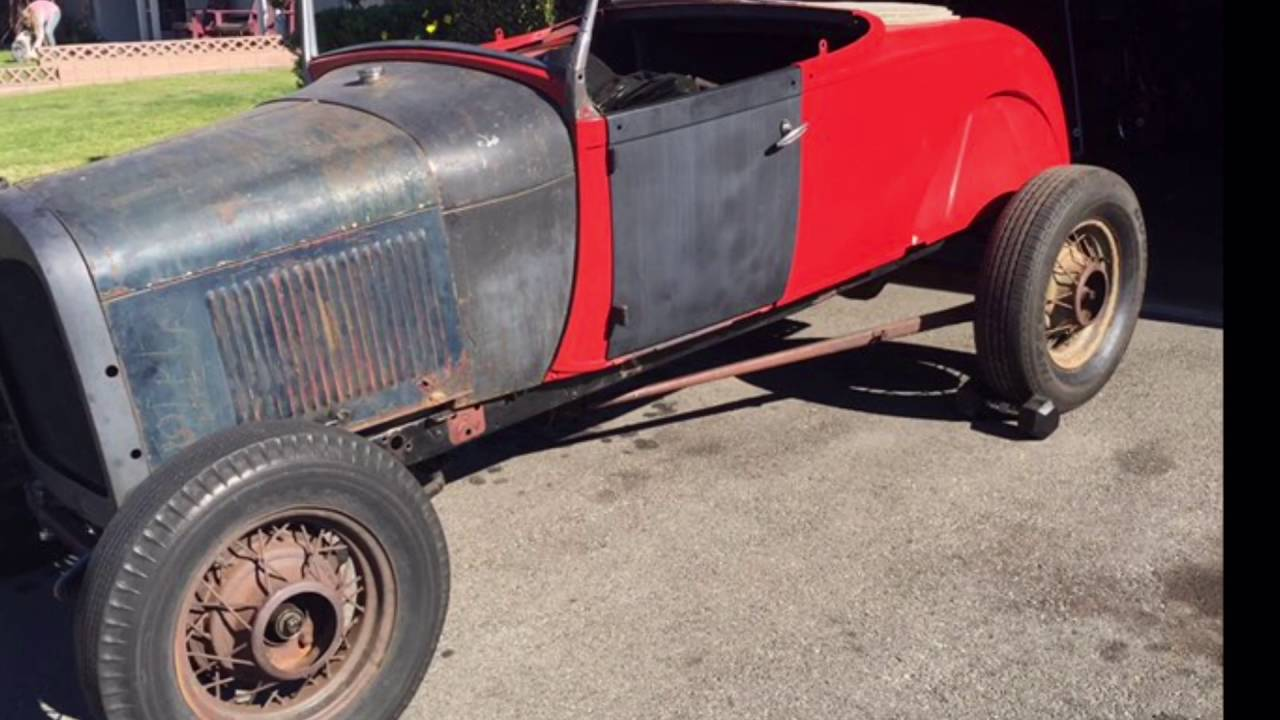 1929 Ford Roadster Build