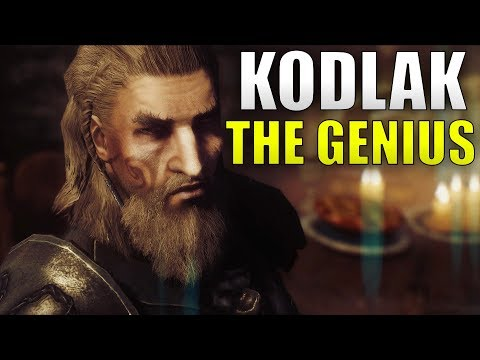 Why Kodlak Whitemane Is A Genius - Skyrim Companions Lore
