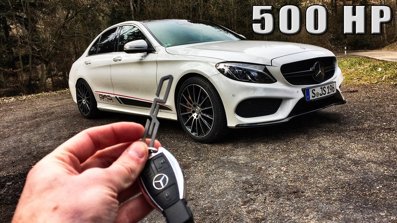 Mercedes Benz C Class REVIEW 500 HP GAD C400 POV Test ...