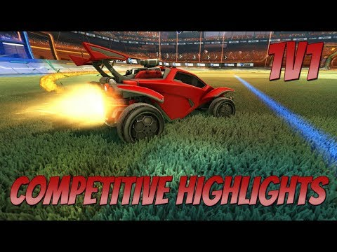 1v1 Competitive Highlights   STREAKING + TILTING (Rocket League Road to Grand Champ)