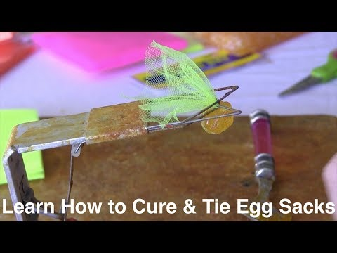 Pautzke University: How To Cure & Tie Trout Eggs In Spawn Sacks