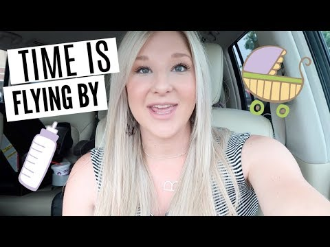 TIME IS FLYING BY   CHECKING ON BABY   A DAY IN THE LIFE OF A SAHM VLOG