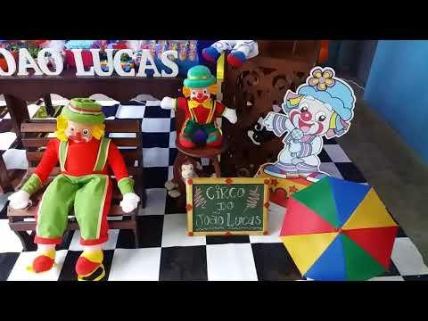 Decoração de Festa - Circo do Patati Patata