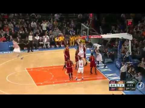 Tyson Chandler 23 pts highlights Knicks vs Cavs