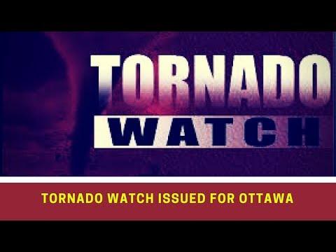 Tornado watch issued for Ottawa