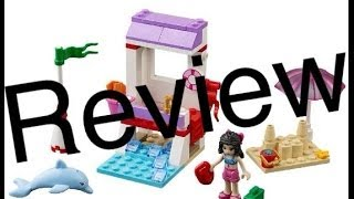 Lego Friends Emma's Lifeguard Post 41028 Review