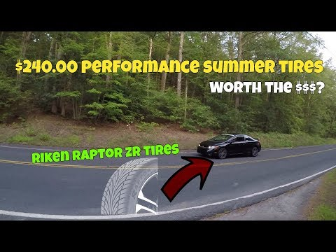 Riken Raptor Zr Summer Tire Review! Worth The $? #tirerack