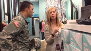 Soldier's Proposal to Girlfriend