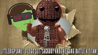 Lego LittleBigPlanet 3 Set! - Sackboy, Toggle, Oddsock, and Swoop Battle a Titan