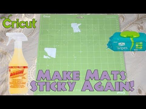 Clean Cricut Cutting Mats / Make Them Sticky Again Tutorial