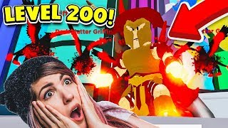 GETTING 5 DARK MATTER GRIFFIN PETS, UNLOCKING UPTOWN, AND REACHING LEVEL 200! (Roblox God Simulator)