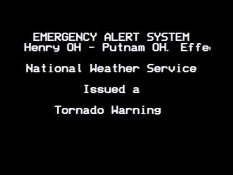 EAS Tornado Warning for Ohio