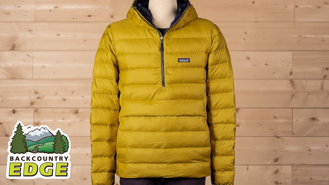 5055dcdae Patagonia Men s Down Sweater Hoody Pullover - YouTube