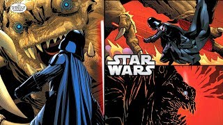 How Palpatine ORDERED a Rancor to KILL Darth Vader (CANON) - Star Wars Comics Explained