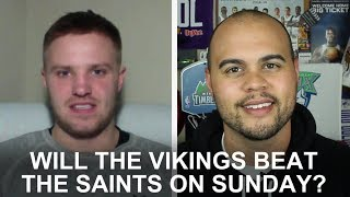 Will the Vikings beat the Saints?