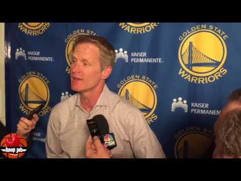 Steve Kerr Reacts To The Kevin Durant vs Willie Green 1 on 1 Game. HoopJab NBA