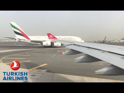 |TRIP REPORT| TURKISH AIRLINES A330-300 DUBAI-ISTANBUL INSANE VIEWS |ECONOMY| HD