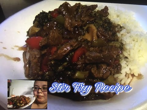 Easy Dinner/ How To Make - Stir Fry   Priscilla Villalpando