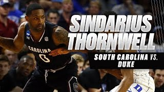 Sindarius Thornwell's 24 points leads South Carolina to Sweet 16