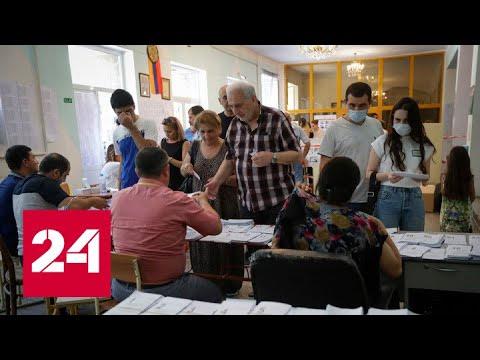 В Армении завершились внеочередные выборы - Россия 24 