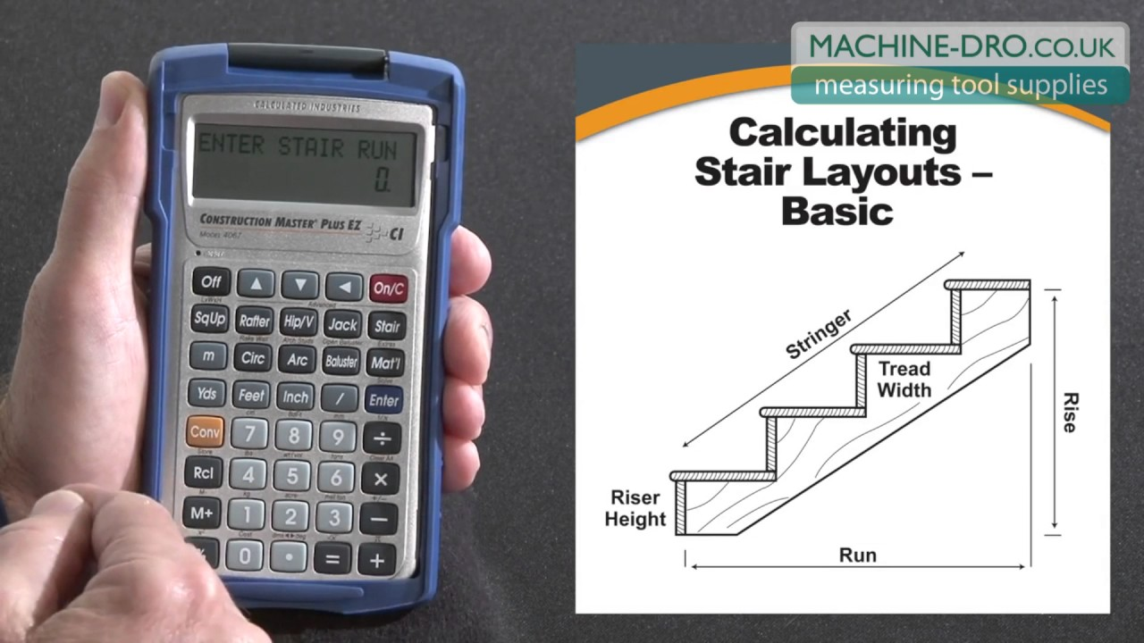 Construction Master Plus EZ Stairs Layouts