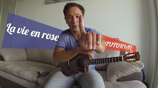 la vie en Rose ukulele tutorial and Cover