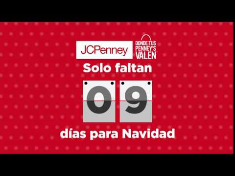 JCPenney's  Holiday Countdown- 9 Days