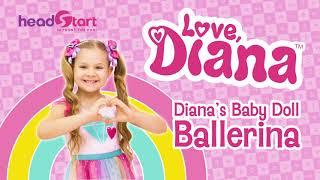 Love Diana Baby Doll Ballerina