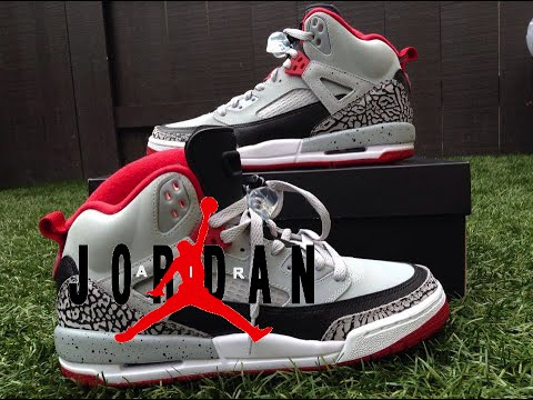 promo code e2a97 bc1b3 UNBOXING AIR JORDAN SPIZ IKE   ON FEET  SUPER SKINNY JEANS - YouTube