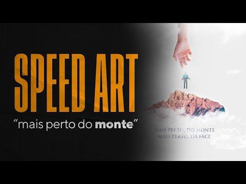 Speed Art no Photoshop – Mais perto do monte