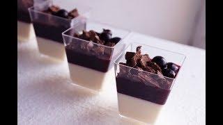 Нежный десерт - Панна котта классическая. Рецепт.
