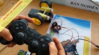 PS2 Controller control DC motor Speed and Direction Arduino