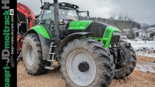 Deutz Fahr X720 BIG POWER SOUND | Wood Crusher | Loagri-JDmoitrackHD
