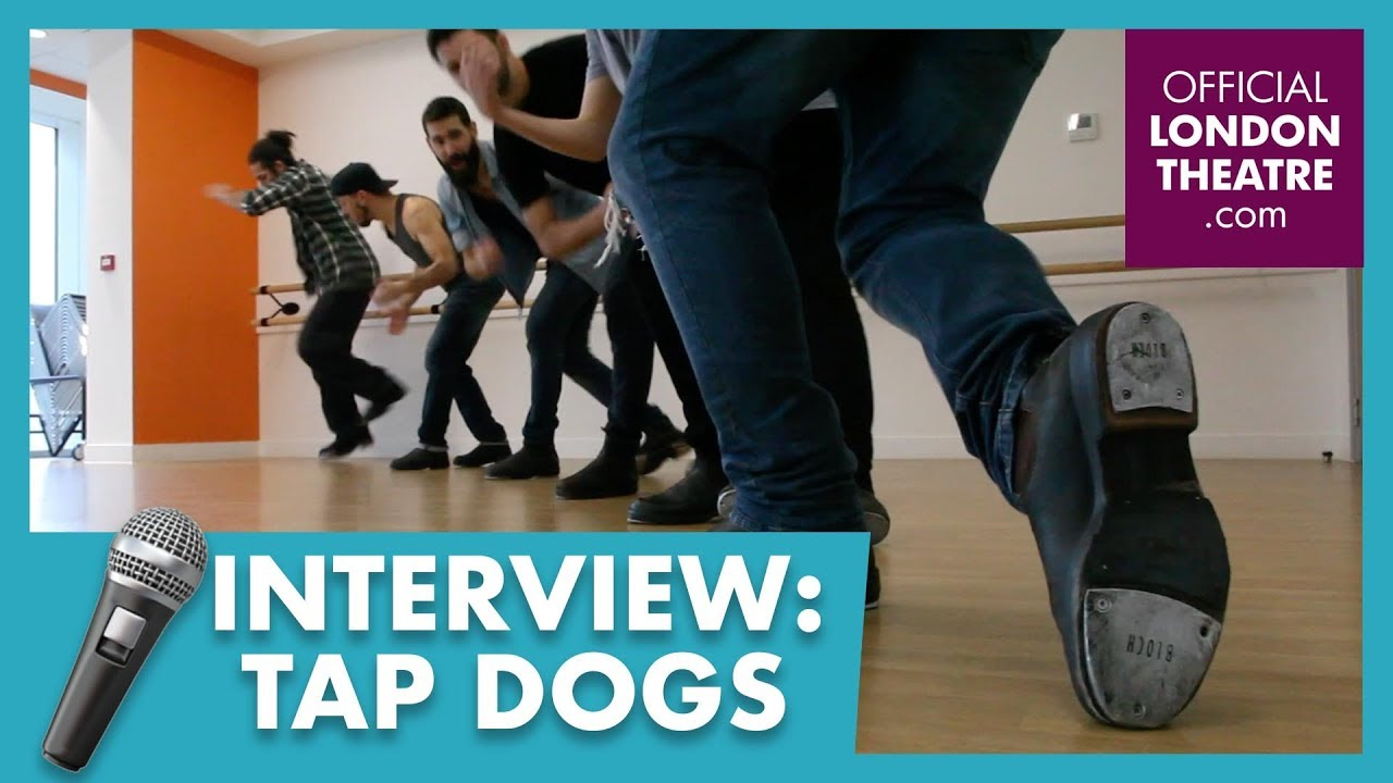 Give the Tap Dogs a round of a-PAWS!